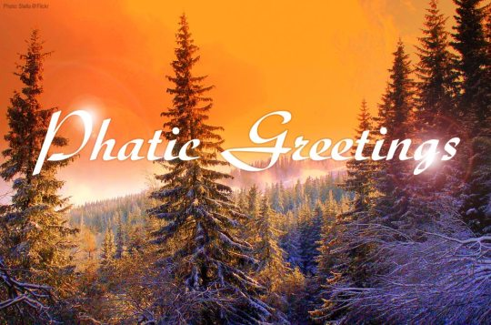 Phatic Greetings