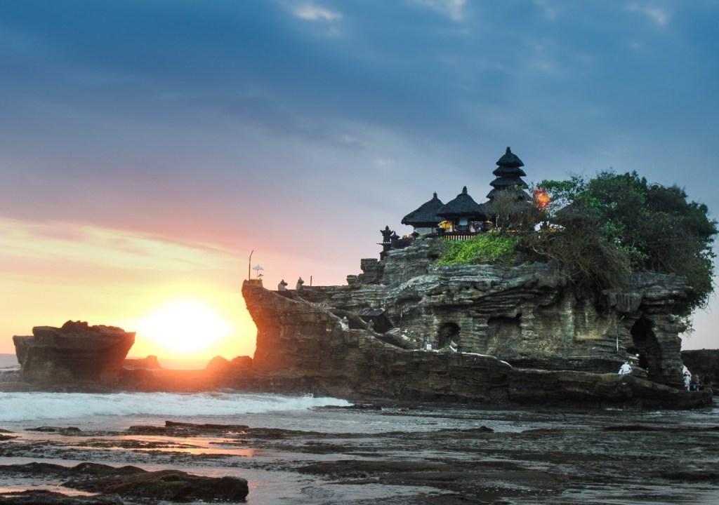 Mejores templos de Bali: templo Tanah Lot