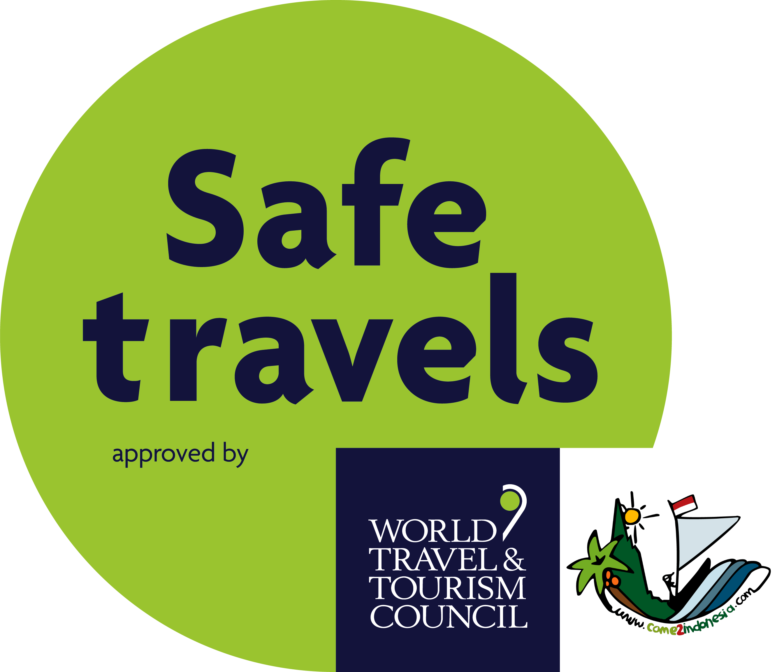 WTTC SafeTravels Stamp come2indonesia