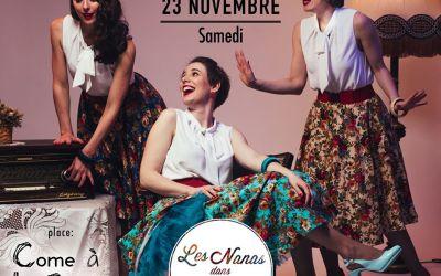 Concert – Les Nanas dans L'Rétro