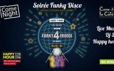 Soirée Funky Disco, Live Music & Dj's