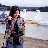 Swan Lake - Denim Look and Nike Huarache