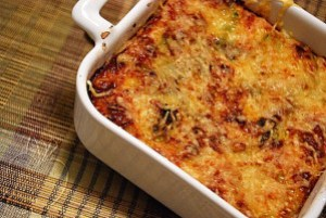 Copie de Gratin de courgettes