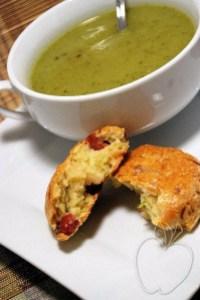 Scones courgette jambon serrano (28)