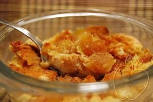 Flan Pudding de manzana y jarabe de arce (2)