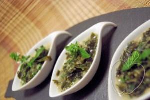 Ensalada de algas wakame, lima y leche de coco (15)