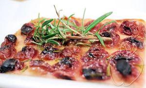 Pizza de uvas y aceite (dulce) (24)