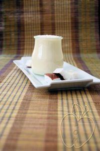 Yogur como un flan de coco (1)