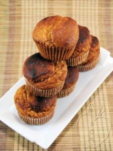 Muffins integrales de mijo y miel (5)
