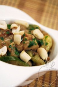 Ceps y calabacines con cacahuete (8)