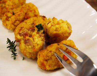 Croquetas de mijo, atún y zanahoria (17)