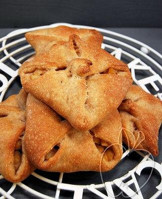 Tartaletas rústicas de manzana y canela (con masa madre) (