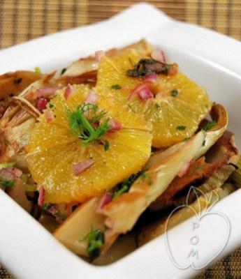 Ensalada templada de hinojo asado y naranja (5) - copia