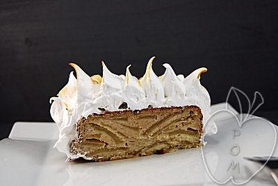 Tarta de manzana y almendra con merengue (19)