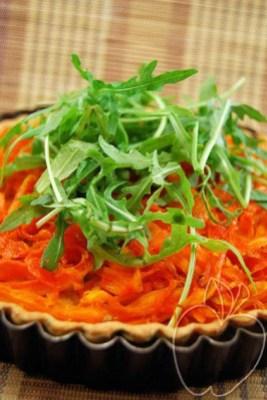 Tarta de zanahoria, rúcula y jengibre (12)