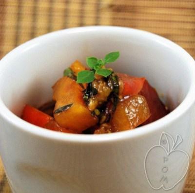 Tomate con mozzarella destructurado (19)