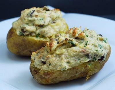Patatas rellenas de soufflé de atún (3)