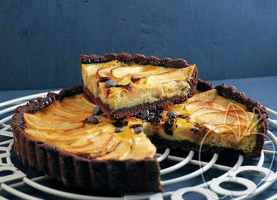 Tarta de Manzana y Chocolate (16)
