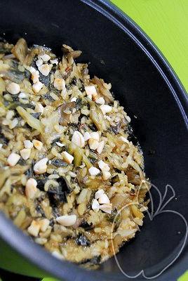 Arroz dulce con acelgas y amaranto (5)