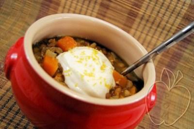 Guiso de lentejas y espelta con curry y calabaza (7) - copi