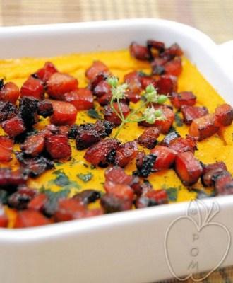 Royale de zanahorias y speck glaceado (2)
