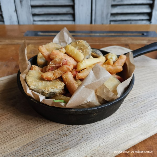Legumi gran fritto misto Come Delivery Come a la Maison Food Delivery and Takeaway Luxembourg