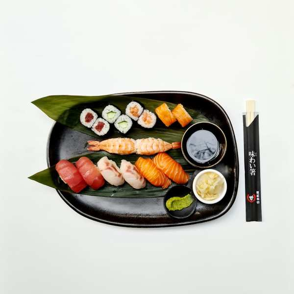 Sushi Box 16 pieces Sushi Delivery Luxembourg Come Delivery 1 2