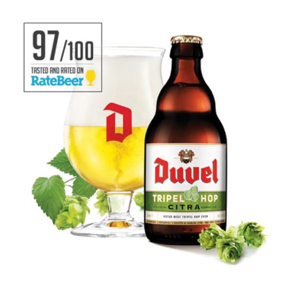 Come Delivery Duvel Tripel Hop Citra Come à la Bière Come à la Maison Delivery Take Away Luxembourg 2