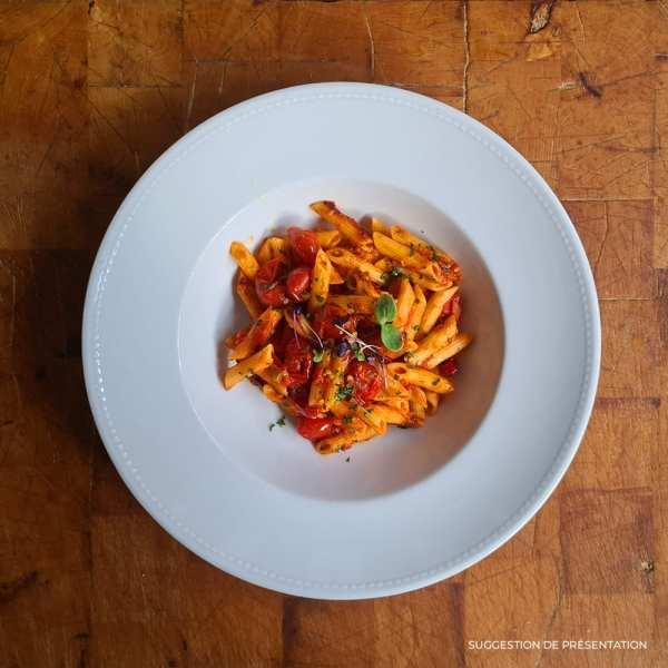Pennette Allarrabbiata Pasta Classica Come Delivery Come a la Maison Delivery Luxembourg
