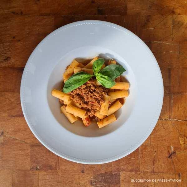 Rigatoni bolognese Pasta Classica Come Delivery Come a la Maison Delivery Luxembourg