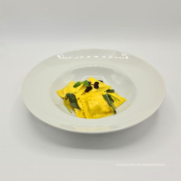 Raviolo mozzarella di buffala tomates beurre de sauge Pasta Classica Come Delivery Come a la Maison Delivery Luxembourg 2