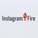 instagram on fire