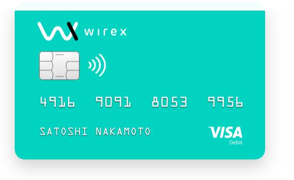 Come funziona Wirex - la migliore carta per Bitcoin
