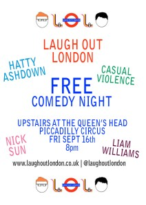 Image of Laugh Out London Free Comedy Night