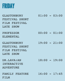 GLASTONBURY - FRIDAY