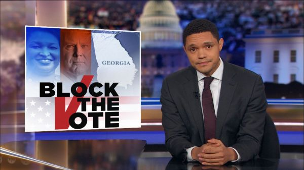 GOP Voter Suppression Ramps Up in Georgia - The Daily Show ...