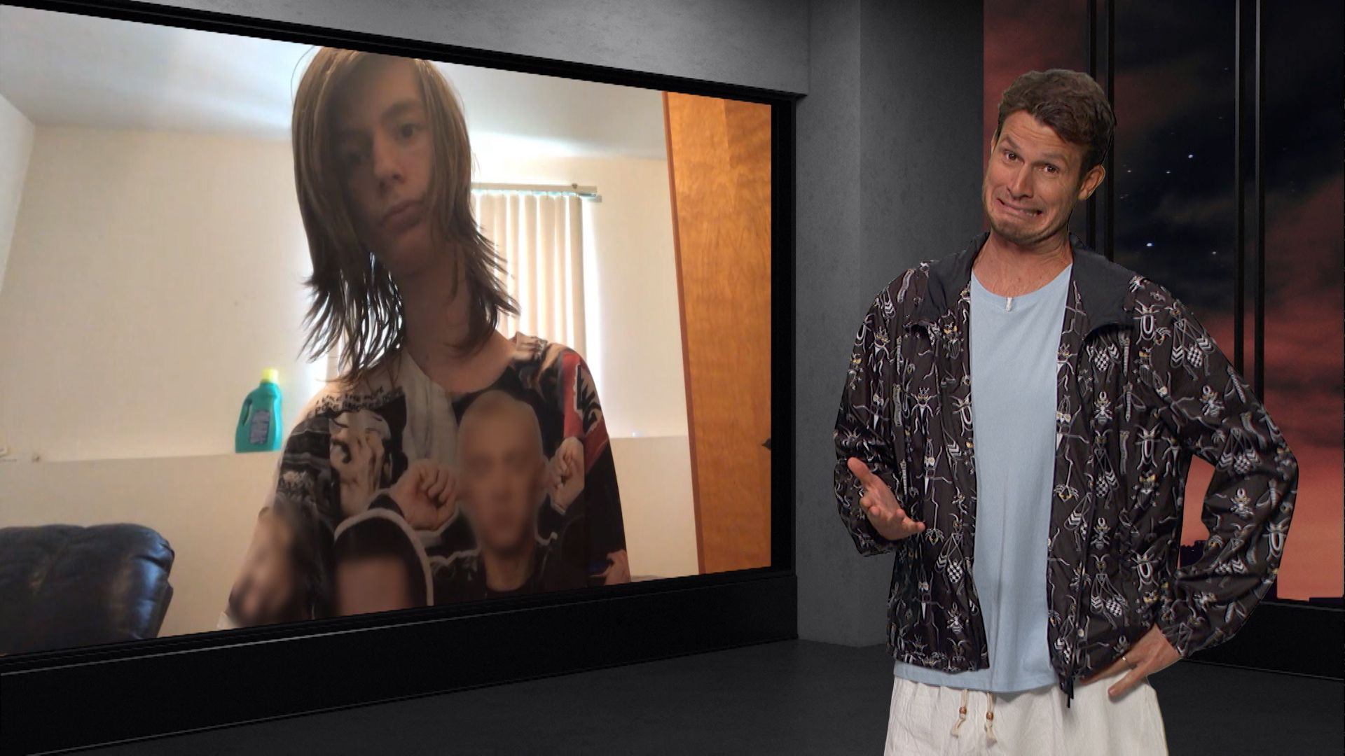 Web Chat Daddy Long Neck Tosh0 Video Clip Comedy