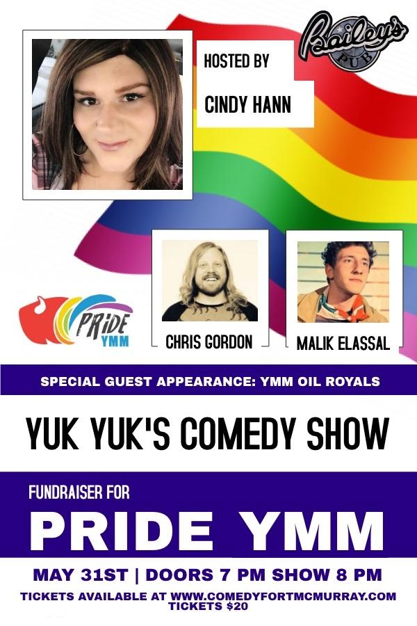 Yuk Yuk's Comedy Show @ Bailey's Pub   Fort McMurray   Alberta   Canada