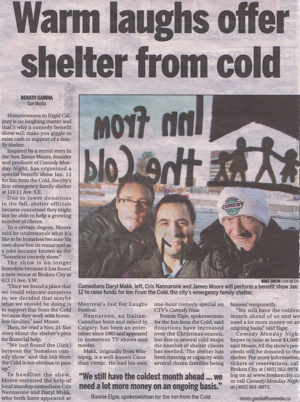 In-From-The-Cold-Calgary-Sun-Article-Jan4-09