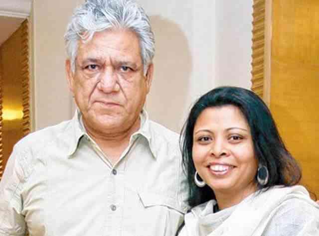 Om Puri and nandita