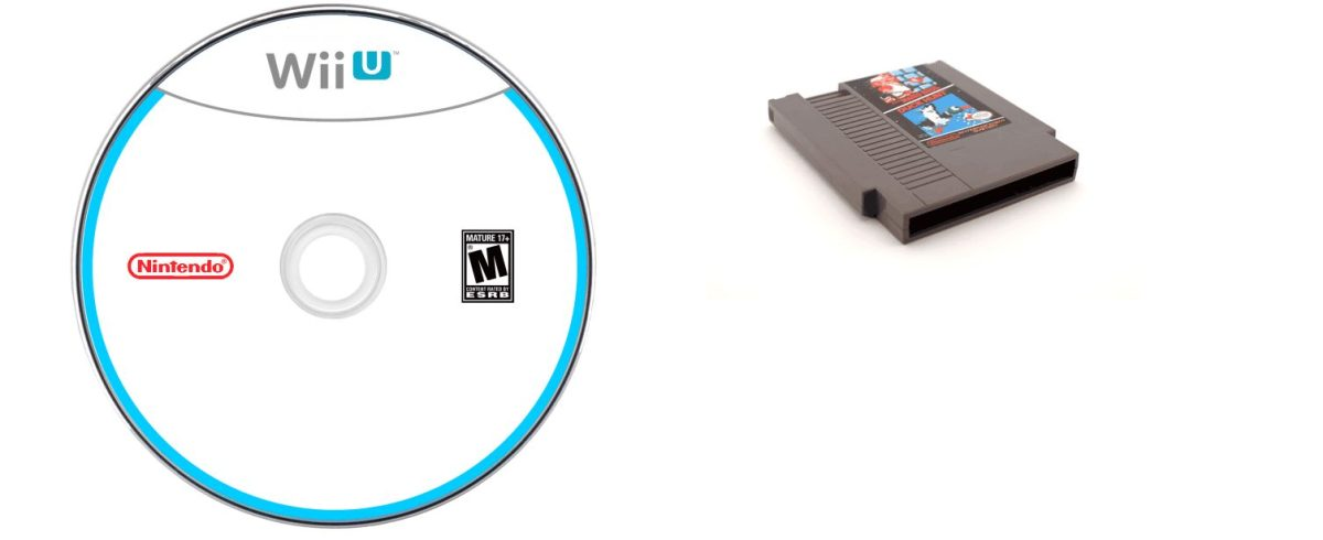 Nintendo Wii U, Snes Game Cartridge and Disc