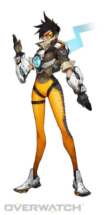 Overwatch Tracer Character and more!