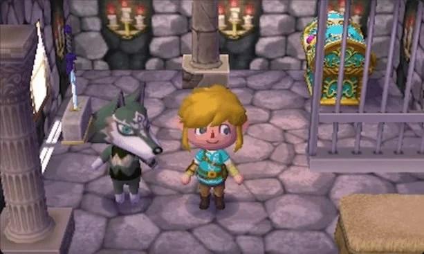 Animal Crossing Amiibo Link Zelda Legend