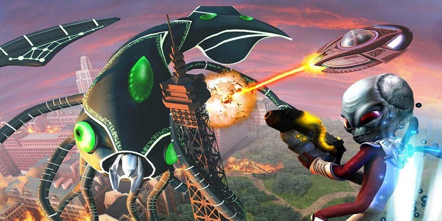 Destroy All Humans PS4 Port