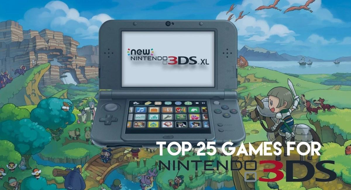 Top 3ds Games Nintendo