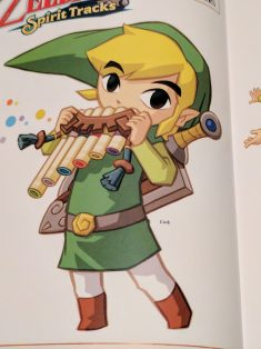 Link from Spirit tracks flute
