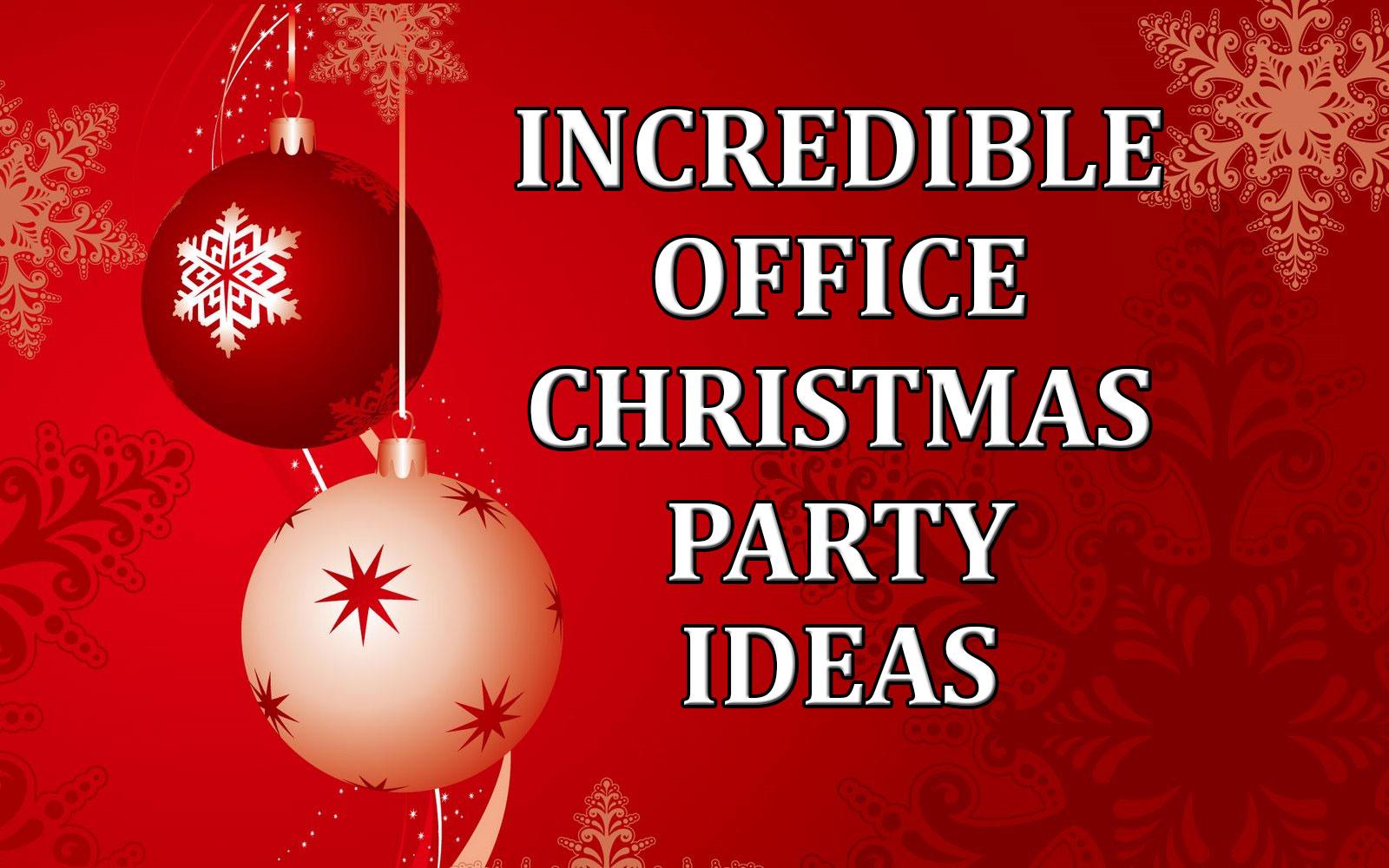 Office Holiday Party Jokes