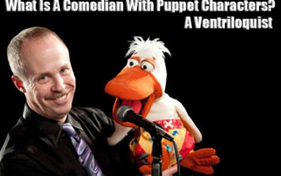 Comedian With Puppet | Ventriloquist | Prop Comedian