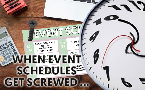 Corporate Event Schedule