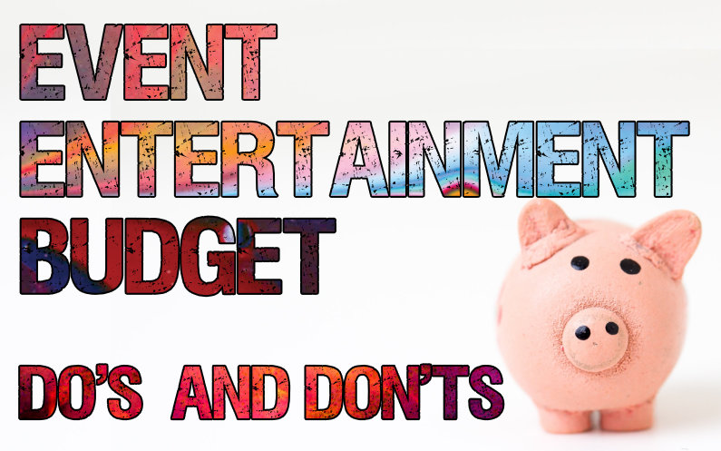 event entertainment budget feature image